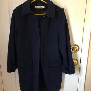 Jackets & Blazers - Navy wool coat